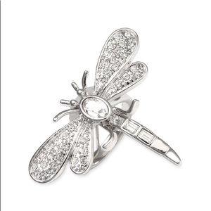 Kate Spade Shimmer Skimmer Dragonfly Ring